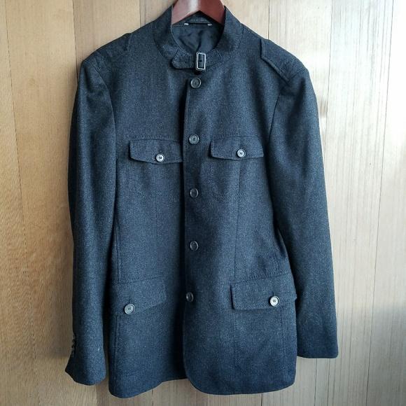 2x Host Pick Hugo Boss Wool Military Grey Blazer